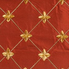 Terracotta Decorator Fabric by Highland Court