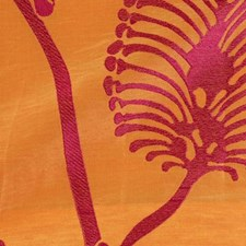 Tangerine Decorator Fabric by Highland Court