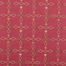 Poppy Red Diamond Decorator Fabric by Highland Court