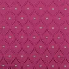 Raspberry Ogee Decorator Fabric by Highland Court