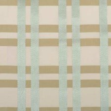 Seaglass Plaid Decorator Fabric by Highland Court