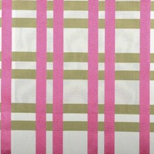 Flamingo Plaid Decorator Fabric by Highland Court
