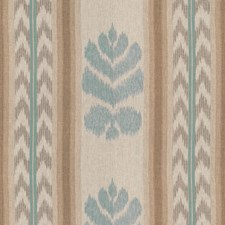 Aqua/Pewter Ikat Decorator Fabric by Brunschwig & Fils