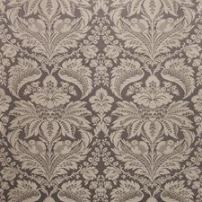 Charcoal Damask Decorator Fabric by Brunschwig & Fils