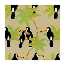 Natural Tropical Decorator Fabric by Brunschwig & Fils