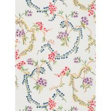Blanc Botanical Decorator Fabric by Brunschwig & Fils