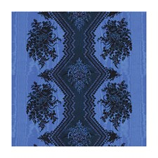 Bleu Botanical Decorator Fabric by Brunschwig & Fils