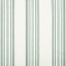 Aqua Stripes Decorator Fabric by Brunschwig & Fils