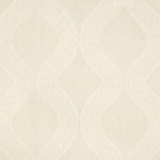 White Ethnic Decorator Fabric by Brunschwig & Fils