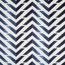 Sky/Royal Geometric Decorator Fabric by Brunschwig & Fils