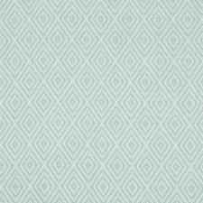 Aqua Diamond Decorator Fabric by Brunschwig & Fils
