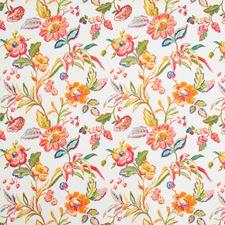 Sunset Botanical Decorator Fabric by Brunschwig & Fils