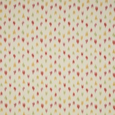 Red/Pink Ikat Decorator Fabric by Brunschwig & Fils