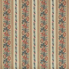 Indigo/Madder Ethnic Decorator Fabric by Brunschwig & Fils