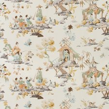 Cafe Asian Decorator Fabric by Brunschwig & Fils
