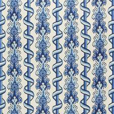 Blue/Sky Ethnic Decorator Fabric by Brunschwig & Fils