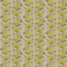 Citrus Embroidery Decorator Fabric by Stroheim