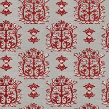 Persimmon Leaves Decorator Fabric by Stroheim