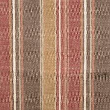 Chocolate Stripes Decorator Fabric by S. Harris