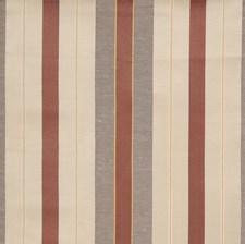 Truffle Stripes Decorator Fabric by S. Harris