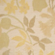Vanilla Swirl Floral Decorator Fabric by S. Harris