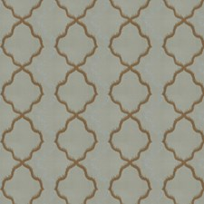 Lagoon Jacquard Pattern Decorator Fabric by S. Harris