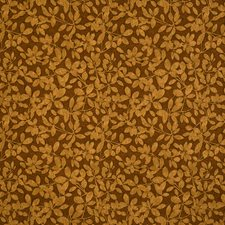 Copper Jacquard Pattern Decorator Fabric by S. Harris