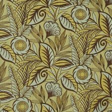Oasis Floral Decorator Fabric by S. Harris