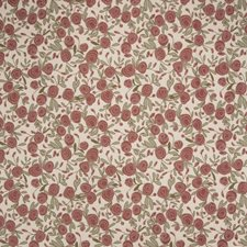Coral Floral Decorator Fabric by S. Harris