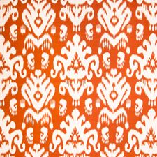 Tangerine Global Decorator Fabric by S. Harris