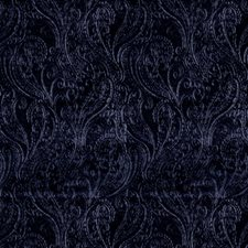 Sapphire Paisley Decorator Fabric by S. Harris