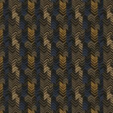 Fieldstone Flamestitch Decorator Fabric by S. Harris