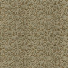 Bronze Flamestitch Decorator Fabric by Trend