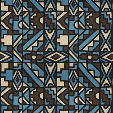 Blue Spark Print Pattern Decorator Fabric by S. Harris