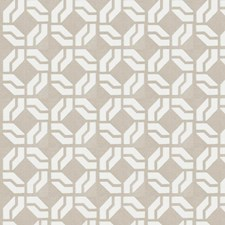 Linen Embroidery Decorator Fabric by Trend
