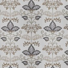 Pewter Floral Decorator Fabric by Fabricut