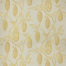 Indian Summer Leaves Decorator Fabric by Vervain