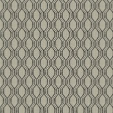Charcoal Geometric Decorator Fabric by Trend