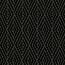 Onyx Geometric Decorator Fabric by Trend