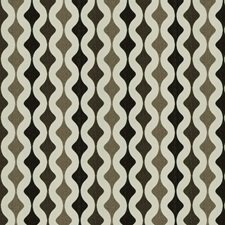 Coffee Geometric Decorator Fabric by Trend
