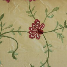 Ruby/olive Decorator Fabric by Duralee