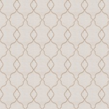 Mocha Embroidery Decorator Fabric by Trend