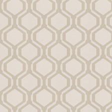Stone Geometric Decorator Fabric by Fabricut
