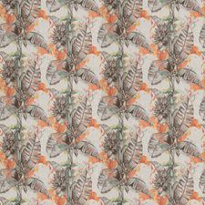 Persimmon Leaves Decorator Fabric by Vervain