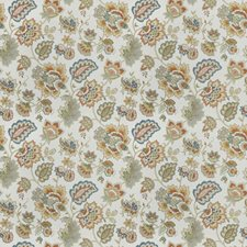 Jewel Floral Decorator Fabric by Trend