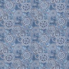 Denim Paisley Decorator Fabric by Trend