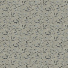 Slate Embroidery Decorator Fabric by Fabricut