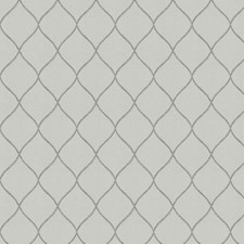 Grey Embroidery Decorator Fabric by Fabricut