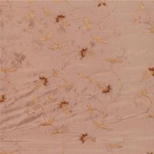 Brown/Yellow Botanical Decorator Fabric by Kravet