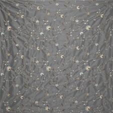 Light Blue/Beige Botanical Decorator Fabric by Kravet